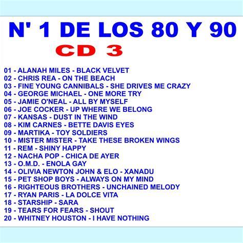 Las 101 Mejores Canciones De Los 80 Y 90  CD3    mp3 buy ...