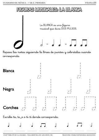 Las 25+ mejores ideas sobre Notas musicales dibujos en ...