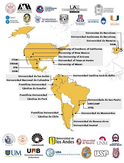 Las 25 Mejores Universidades Latinoamericanas y de Estados ...
