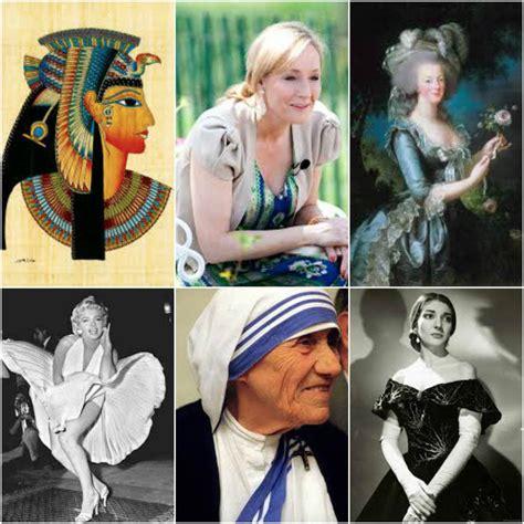 Las 30 Mujeres Más Famosas y Destacadas de la Historia