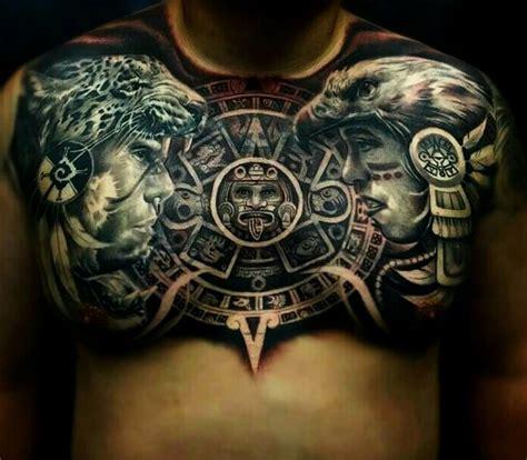 Las 33 mejores ideas de Tatuajes mayas y AZTECAS (hombre y ...