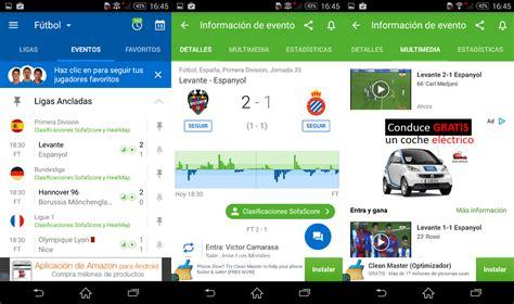 Las 5 aplicaciones de fútbol para estar al tanto de los ...