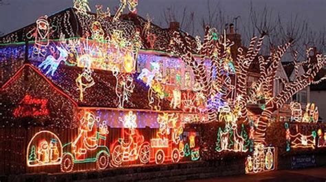 Las 5 mejores casas decoradas de navidad y Los 5 mejores ...