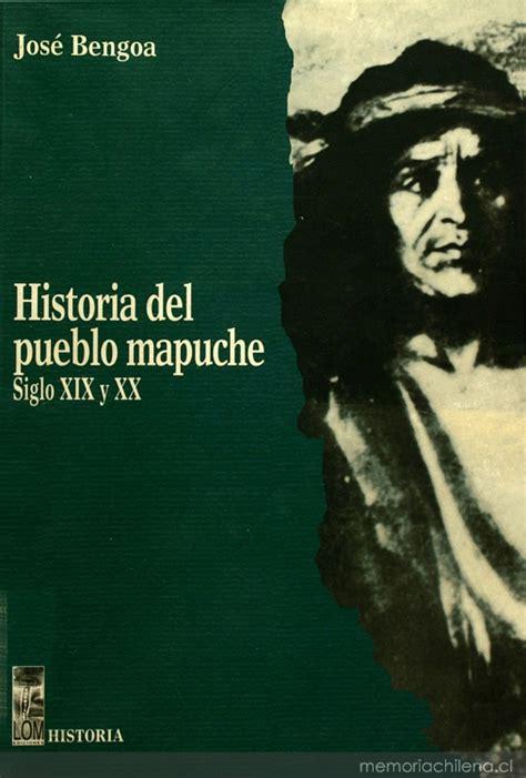 Las agrupaciones mapuches en el siglo XIX   Memoria ...