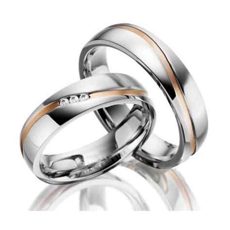Las alianzas de acero y oro rosa están de moda ♥ Acero y Oro