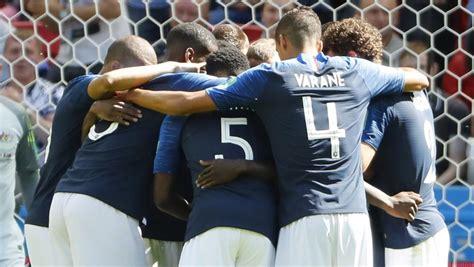 Las alineaciones del Francia - Perú del Mundial de fútbol
