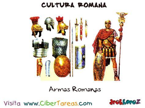 Las Armas – Cultura Roma | CiberTareas