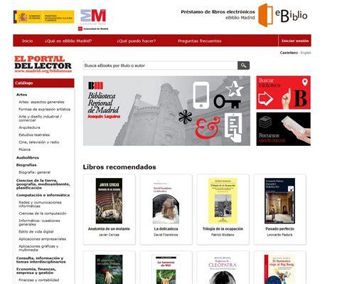 Las bibliotecas españolas ofrecen un sistema de préstamo ...