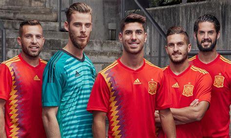 Las camisetas de las Selecciones para el Mundial 2018