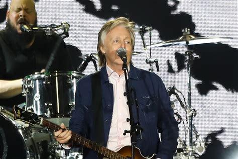 Las canciones que marcaron el esperado concierto de Paul ...