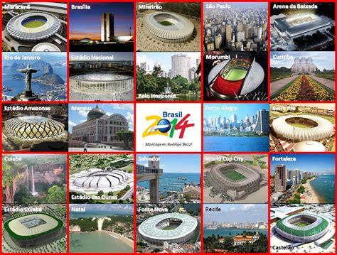 Las ciudades anfitrionas de la Copa Mundial de fútbol ...