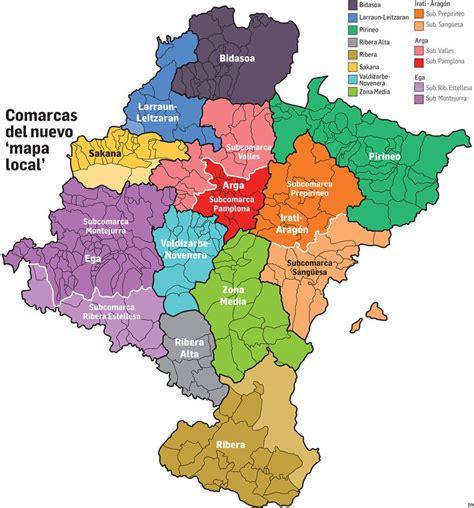 Las comarcas del nuevo 'mapa local' de Navarra podrán ...