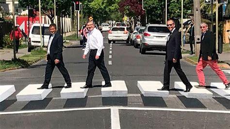 Las Condes estrenó el primer paso de peatones 3D en Santiago
