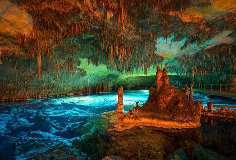 Las Cuevas del Drach, en Porto Cristo, Mallorca