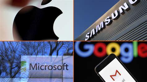 Las empresas de tecnología más grandes del mundo, según ...