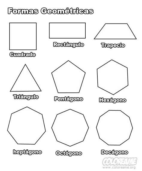 las formas para imprimir | Dibujo para Colorear de Formas ...