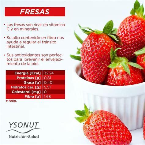 Las fresas y sus beneficios. ¡A disfrutarlas! # ...