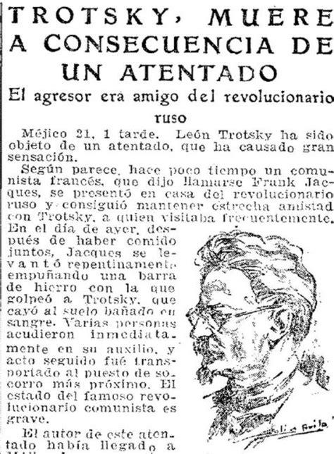 Las grandes mentiras del asesinato de Trotsky a manos de ...
