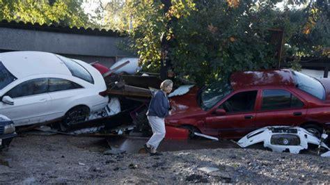 Las inundaciones en la Costa Azul francesa provocan al ...