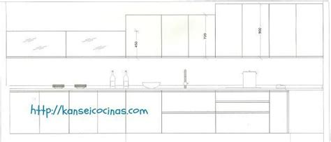 Las Medidas de los Muebles de Cocinas |Muebles Altos