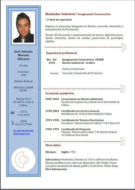 Las Mejores Plantillas para Curriculum Viate | Plantillas ...