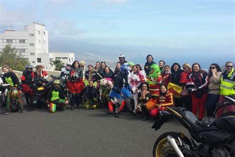 Las Moteras Tenerife llevaron el Carnaval por toda la isla ...