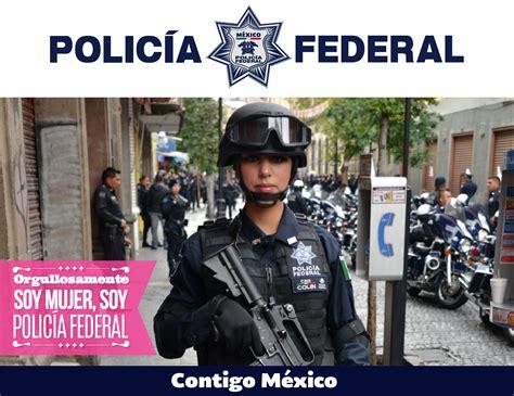 Las Mujeres en la Policía Federal   Policía Federal ...