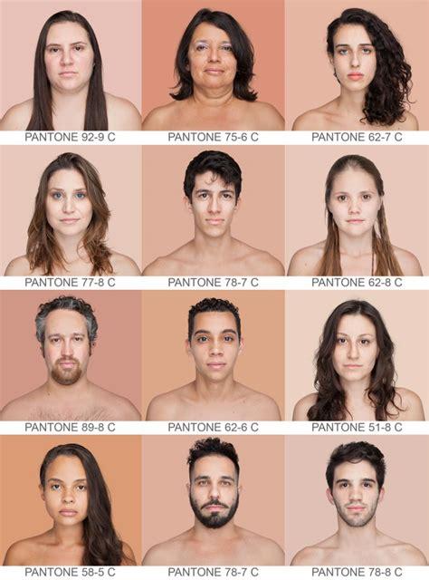 Las Personas No Son Blancas Ni Negras. Mira Los Colores De ...