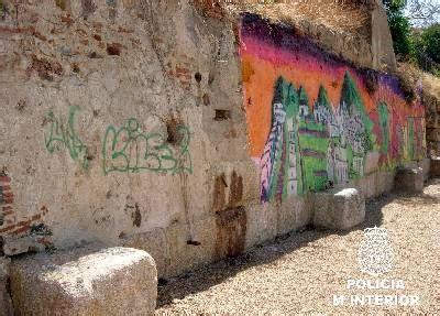 Las pintadas no respetan el yacimiento arqueológico más ...