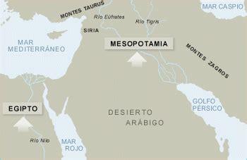 LAS PRIMERAS CIVILIZACIONES  MESOPOTAMIA Y EGIPTO