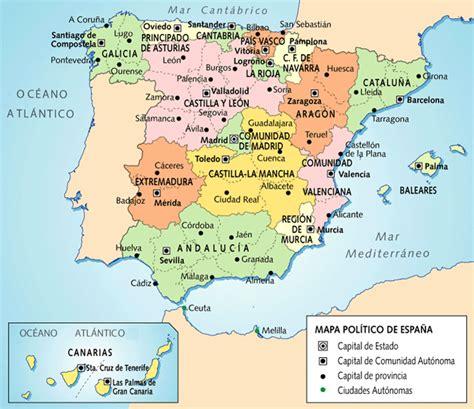 Las provincias de España y sus capitales | ciencias ...