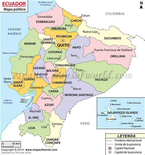 Las Provincias del Ecuador | Ecuador Noticias | Noticias ...