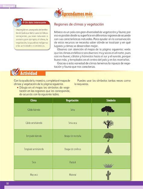 Las regiones de México - Bloque I - Lección 4 ~ Apoyo Primaria