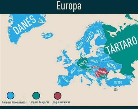 Las segundas lenguas de cada región del mundo en una ...