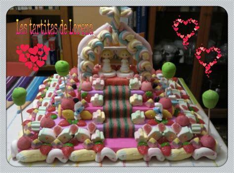 Las tartitas de Lorena: Tarta de chuches para la comunión ...