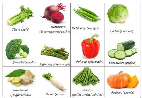 Las Verduras en francés – Les Légumes en français ...