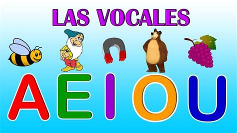 LAS VOCALES - Aprende a e i o u en Español - Videos ...