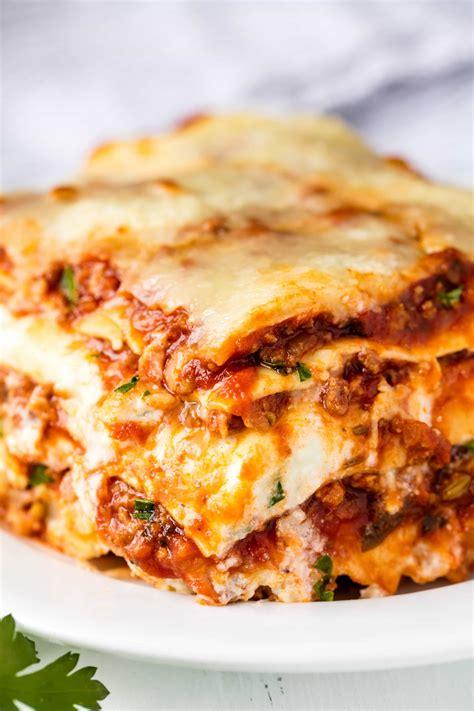[lasagna recipe]   28 images   perfect sausage and beef ...