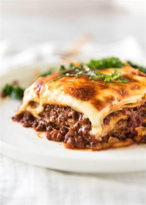 Lasagna !!   RecipeTin Eats