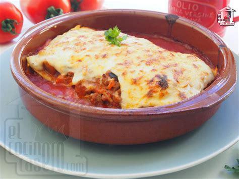 Lasaña de carne · El cocinero casero - Pasta y pizza