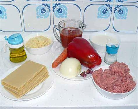 Lasaña de carne o lasaña a la boloñesa - La mansión de las ...