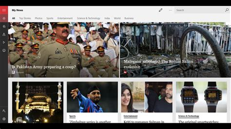 Latest MSN News app update for iOS doesn t display news
