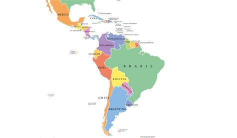 Latin American Countries - WorldAtlas.com