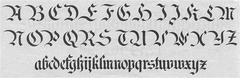 latinciamaria: Letras góticas