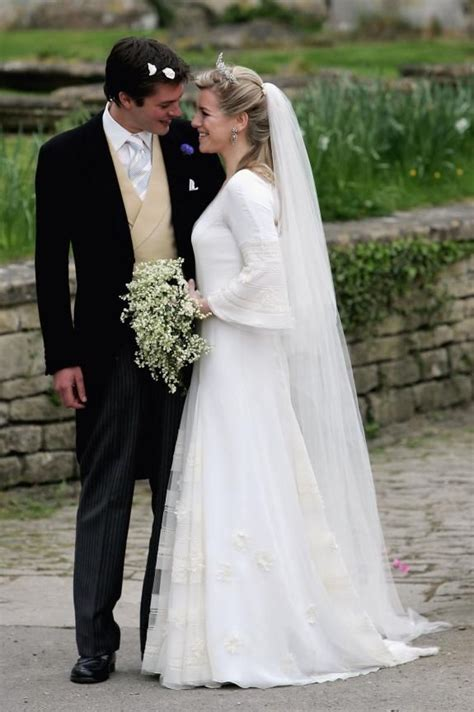 Laura Parker Bowles and Harry Lopes wedding at St Cyriac s ...