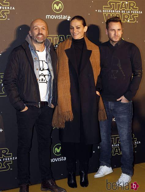 Laura Ponte y Alvarno en el estreno de  Star Wars: El ...
