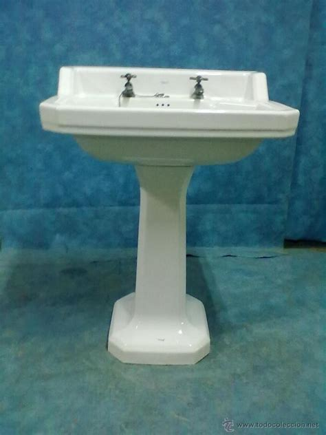 lavabo con pie roca años 50 - Comprar Muebles Auxiliares ...