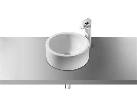 Lavabo de porcelana de sobre encimera | Lavabos sobre ...