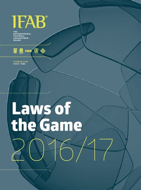 Laws of football - Laws of the Game FIFA referee