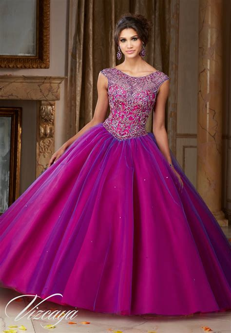 Layered Tulle Quinceañera Dress | Style 89104 | Morilee